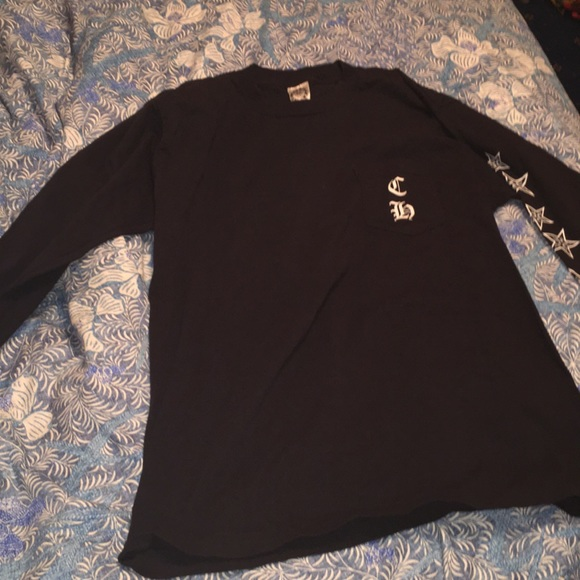 Chrome Hearts Tops - Black long sleeve